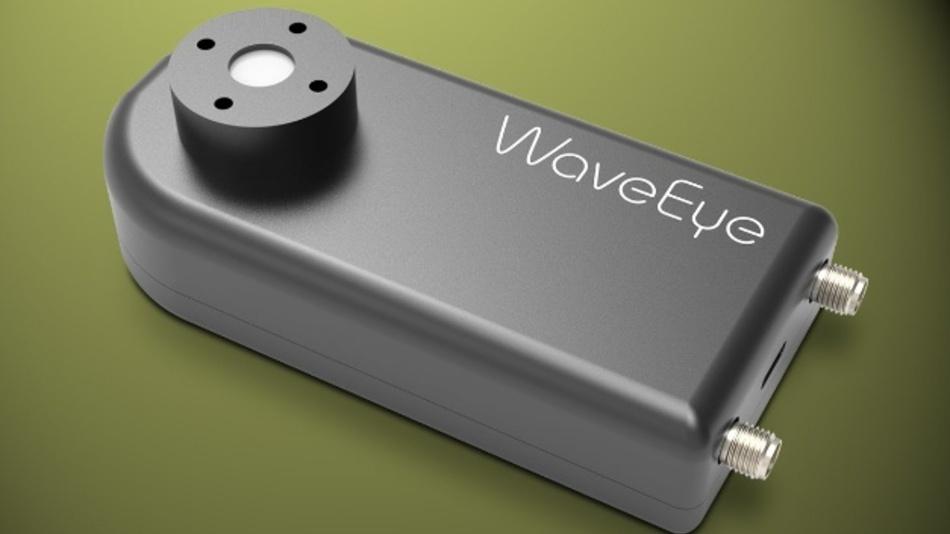 Messgerät Wave Eye (Vertrieb: Laser Components)