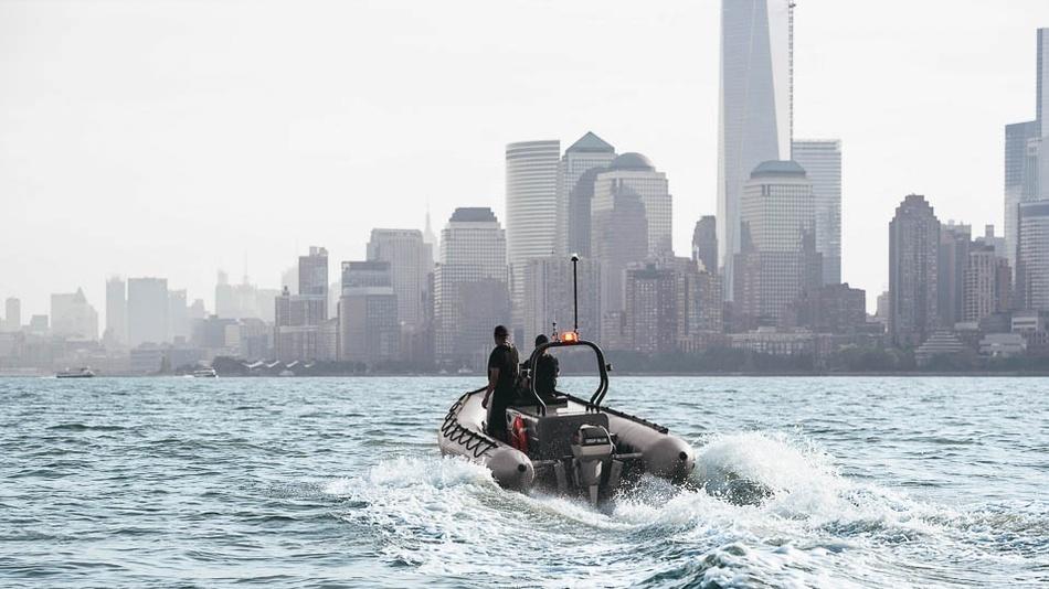 E-Schlauchboot mit Elektroantrieb