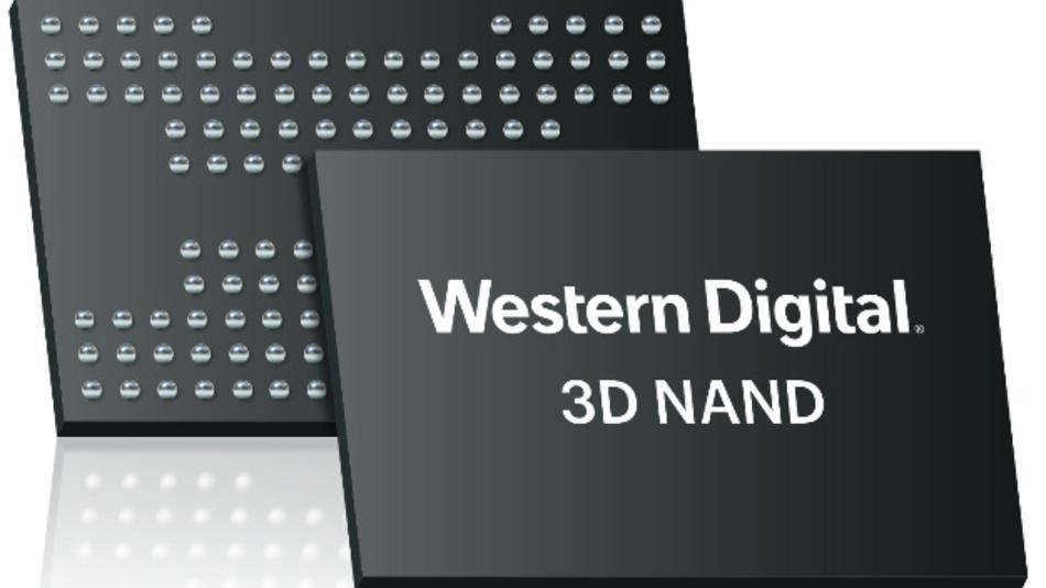 Vier Bit pro Zelle können die neuen NAND-ICs mit 96 Layern von Western Digital speichern