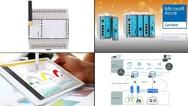 Bildcollage zu Produkten aus den Bereichen Predictive Maintenance und Condition Monitoring