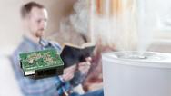 Vollintegrierter Luftqualitätssensor Omron B5W-LD0101 mit hoher Messgenauigkeit bei PM 2,5