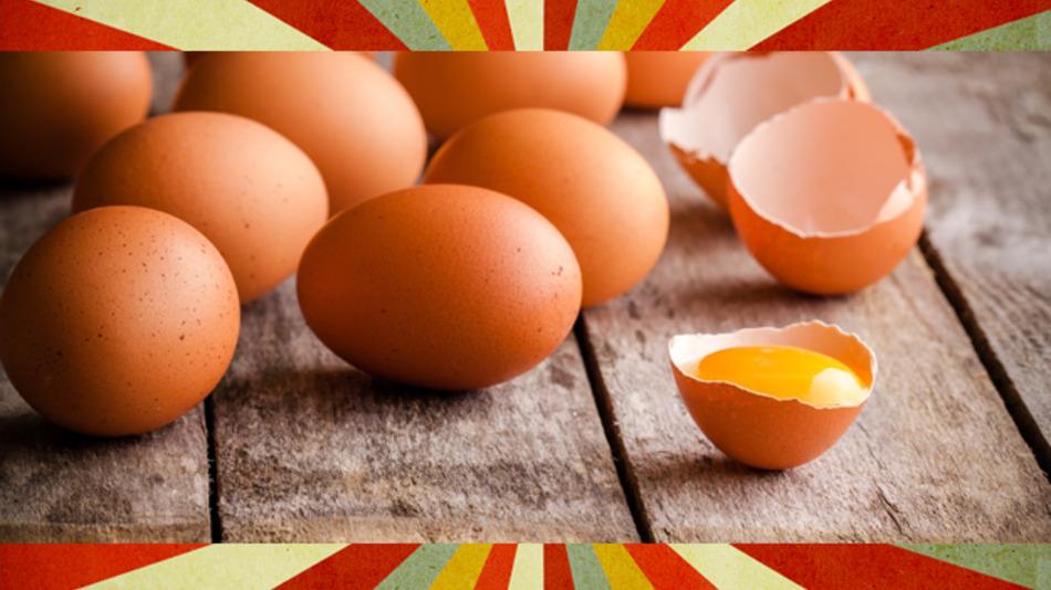 Die Sortieranlage aus dem Jahr 1956 war immerhin so gut, dass alle schlechten Eier erfasst wurden.