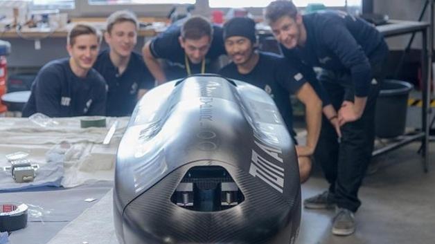 International Platz 3 für Schweizer Team beim Hyperloop-Wettbewerb