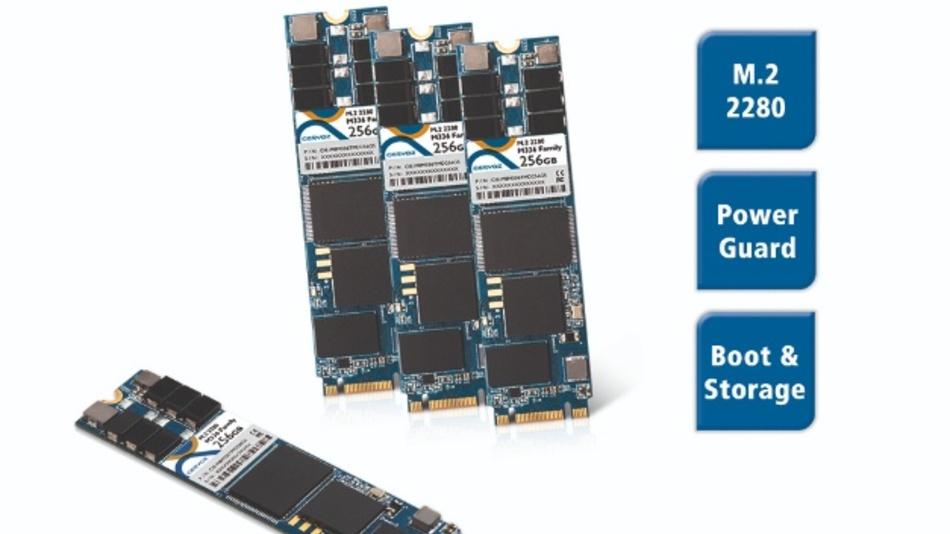 SSD-Familie Spectra M336 mit Powerguard im M.2-Format.