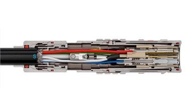 Lemo führt den hybriden Lichtwellenleiter-Steckverbinder 3K.93C auf den Markt ein.