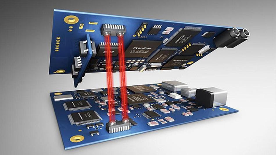 Der industrielle Datenverkehr wächst und  WLAN und ZigBee geraten an ihre Grenzen. Eine Funklösung ist optische Datenübertragung.