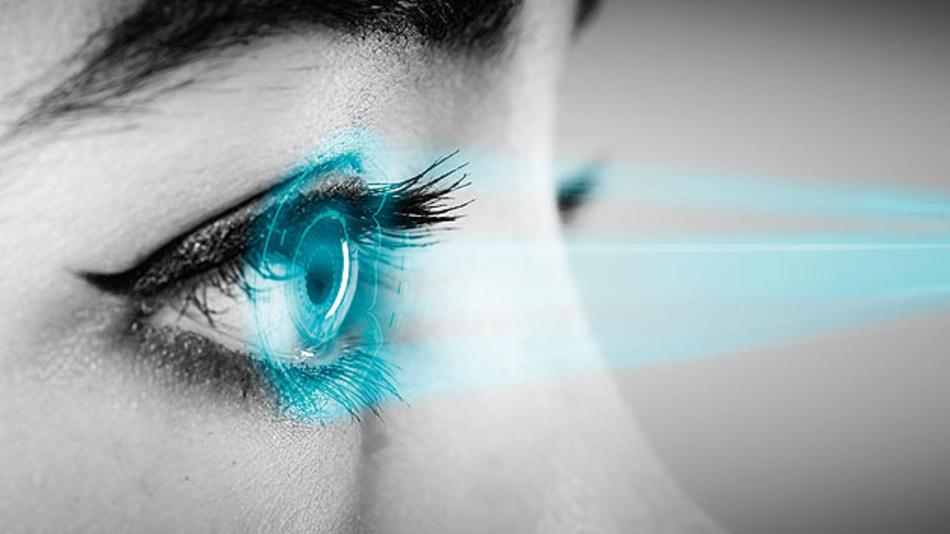 Iris-Scanner und Gesichtserkennung in mobilen Geräten funktionieren zuverlässig mit IR-Lichtquellen.