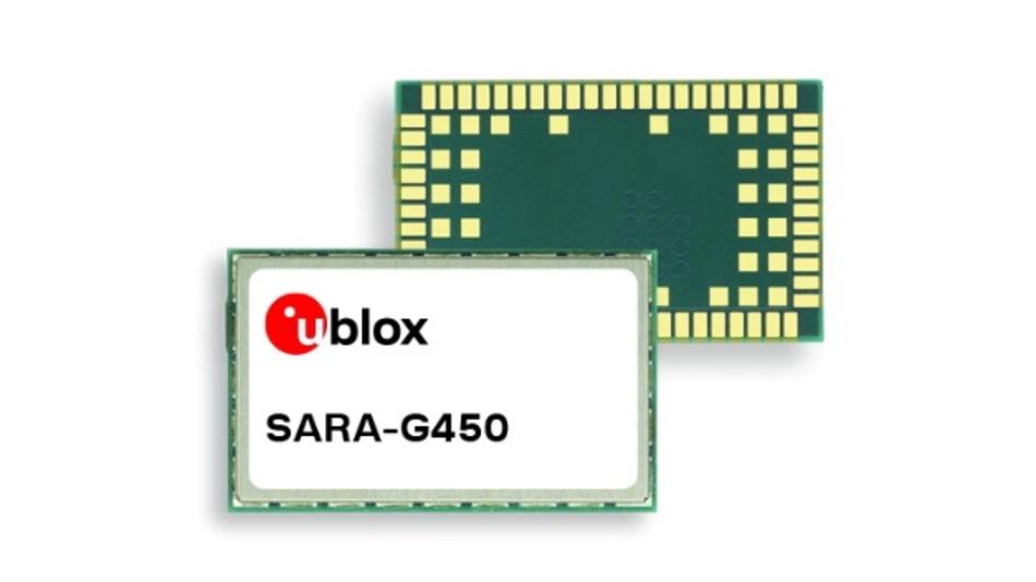 Das 2G-Mobilfunkmodul Sara-G450 ermöglicht einen einfachen Umstieg auf LPWA.