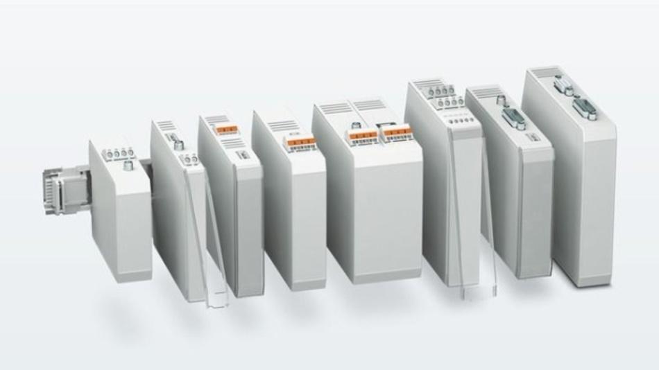 Das Baukastensystem des ICS-Gehäuses bietet eine hohe Skalierbarkeit.