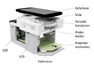Platz 8: Das Smartphone als Hochleistungsmikroskop Moderne Mobiltelefone, ausgestattet mit leistungsfähigen Kameras, Prozessoren und Grafikkarten, können technisch wesentlich mehr als nur schöne Schnappschüsse liefern. Wissenschaftler des Leibniz-Ins