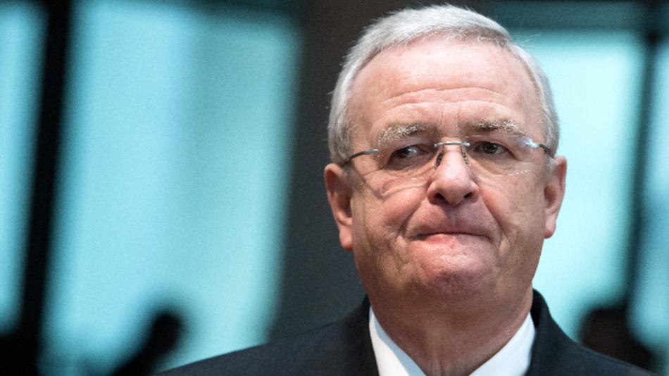 Martin Winterkorn, ehemaliger Vorstandsvorsitzender von Volkswagen, als Zeuge bei der Sitzung des Abgas-Untersuchungsausschusses des Deutschen Bundestages in Berlin.