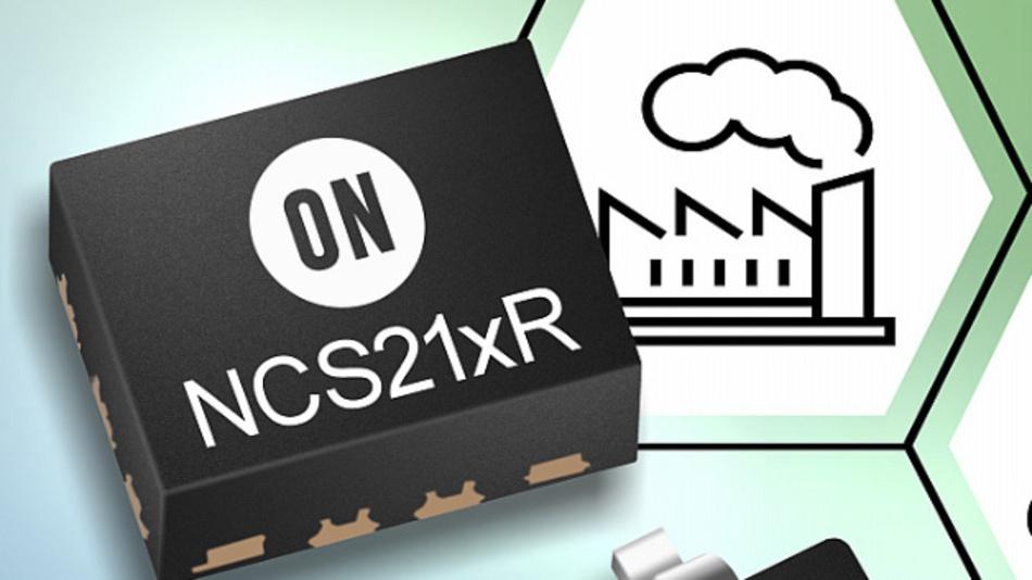Messverstärker-Familie NCS21xR mit geringem Ruhestrom und Null-Drift-Architektur.
