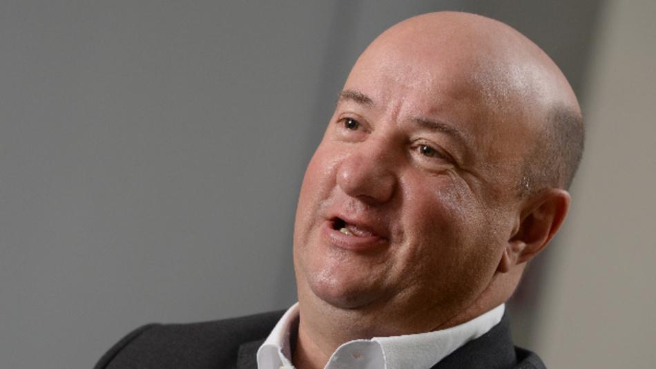 Michael Brecht, der Gesamtbetriebsratsvorsitzende des Automobilkonzerns Daimler.