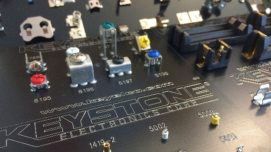 Heilind liefert ab sofort das komplette Produktportfolio von Keystone von mehr als 10.000 Artikeln mit u.a. Batterie- und Sicherungshaltern, Testpoints und Abstandshaltern.
