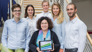 Das Team der »Gesundheitsvisionäre« 2018