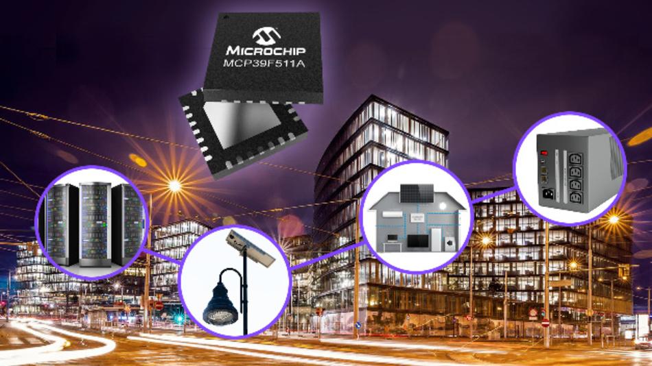 Der MCP39F511A kann automatisch zwischen AC-Modus und DC-Modus umschalten.