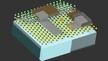 Die zellgroßen Roboter können Flüssigkeiten oder Luft frei schweben (Illustration/MIT)