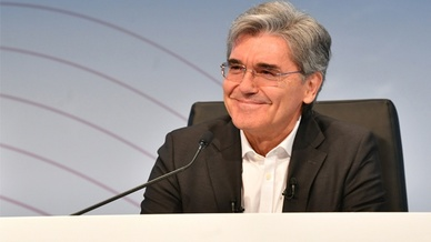 Siemens-Chef Joe Kaeser im August 2018