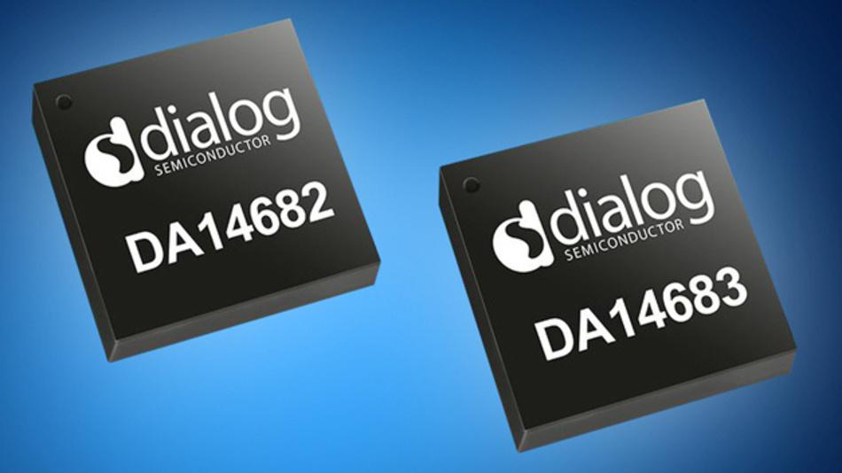 Pin- und Software-kompatibel zu den Vorgängern ermöglichen die Bluetooth-SoCs DA14682 und DA14683 die Kommunikation nach Bluetooth 5 bzw. Bluetooth Mesh.