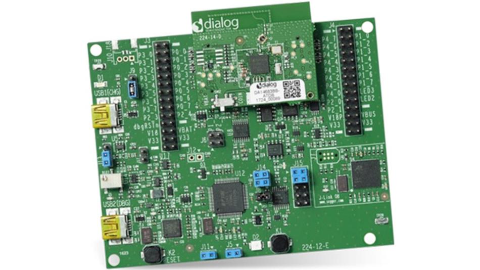 Entwicklunsgkit mit Tochterkarte für das Bluetooth-SoC DA14683 von Dialog Semiconductor