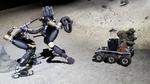 Laufroboter erkundet Mars im Roboterschwarm