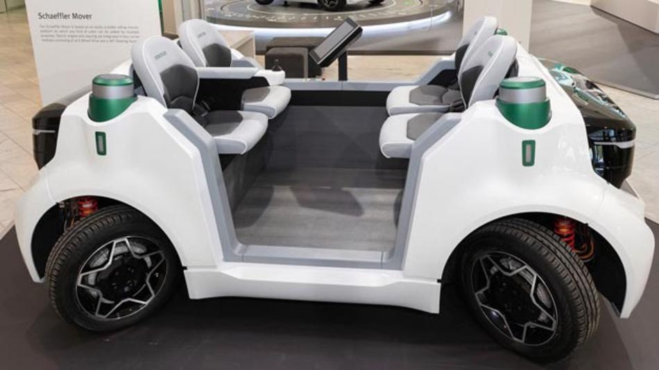 Das neue Gemeinschaftsunternehmen Schaeffler Paravan Technologie übernimmt Drive-by-Wire-Technologie Space Drive von Paravan und die Mover-Aktivitäten von Schaeffler.