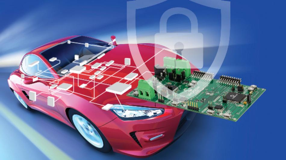 Das branchenweit erste Automotive-Security-Entwicklungskit vereinfacht den Schutz fahrzeuginterner Netzwerke vor Hackern