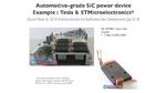 Yole Développement, SiC, Silicon Carbide, Automotive
