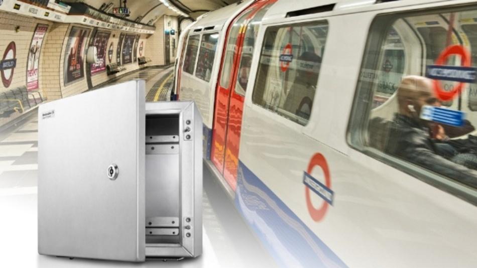 Die speziellen Gehäuse von Weidmüller bieten einen optimalen Schutz für die neue Zugsicherungstechnik in der London Underground.