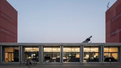 Ateliergebäude Hochschule Luzern Außenansicht