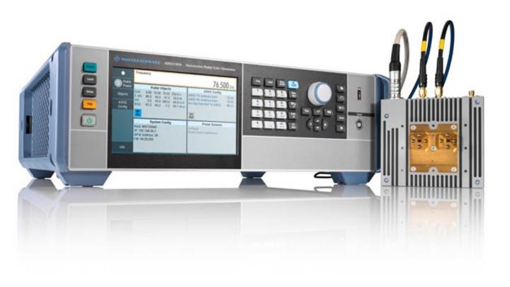 R&S AREG100A Automotive Radar Echo Generator von Rohde & Schwarz