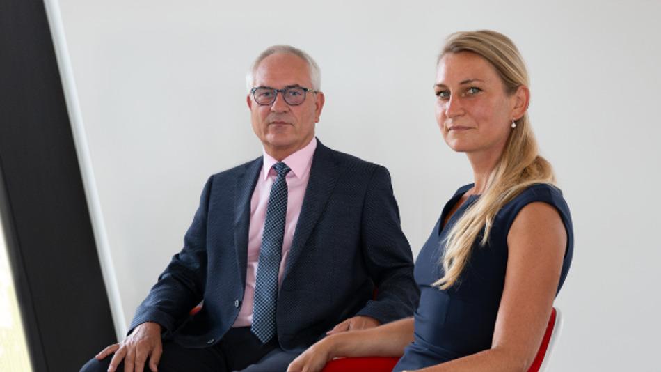 Holger Göpel übergibt die Geschäftsführung an seine Tochter Alice Göpel.