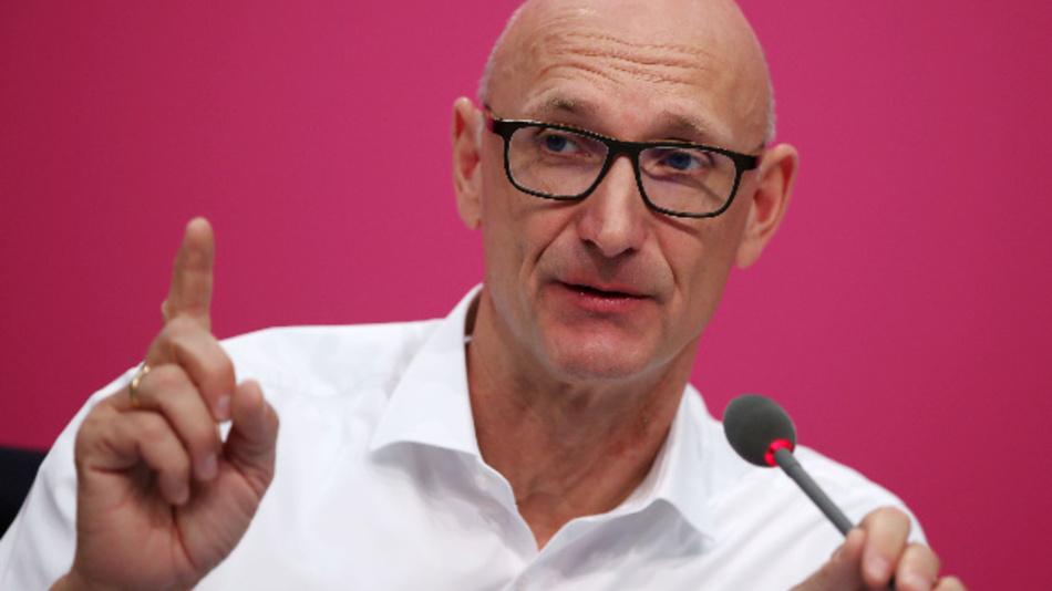 Der Vorstandsvorsitzende der Deutschen Telekom, Timotheus Höttges.
