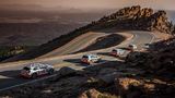 Der Audi e-tron-Prototyp im Rekuperationstest am Pikes Peak.