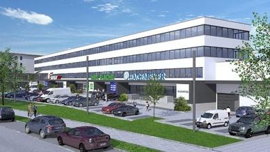 So soll Hagemeyers Niederlassung im Centro Tesoro in München aussehen, wenn es fertig gestellt ist.