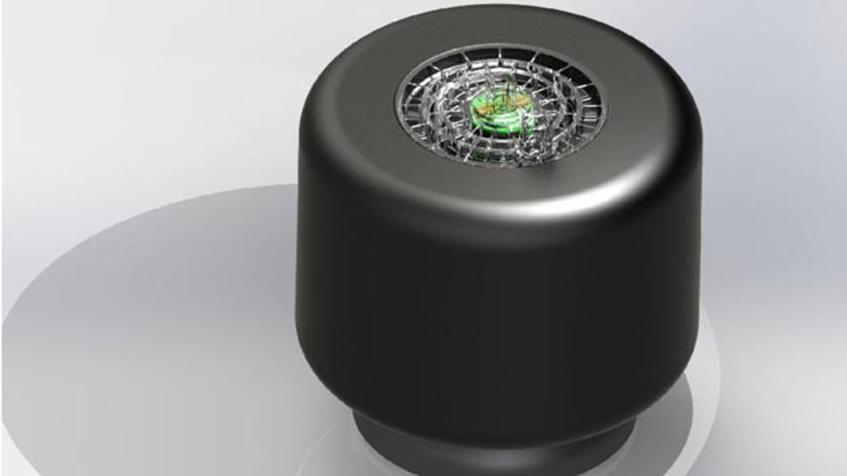 Die elektronische Luftfeder: Der UHP-Sensor reguliert die Höhenlage und den Druck von Luftfedern mittels Ultraschall.