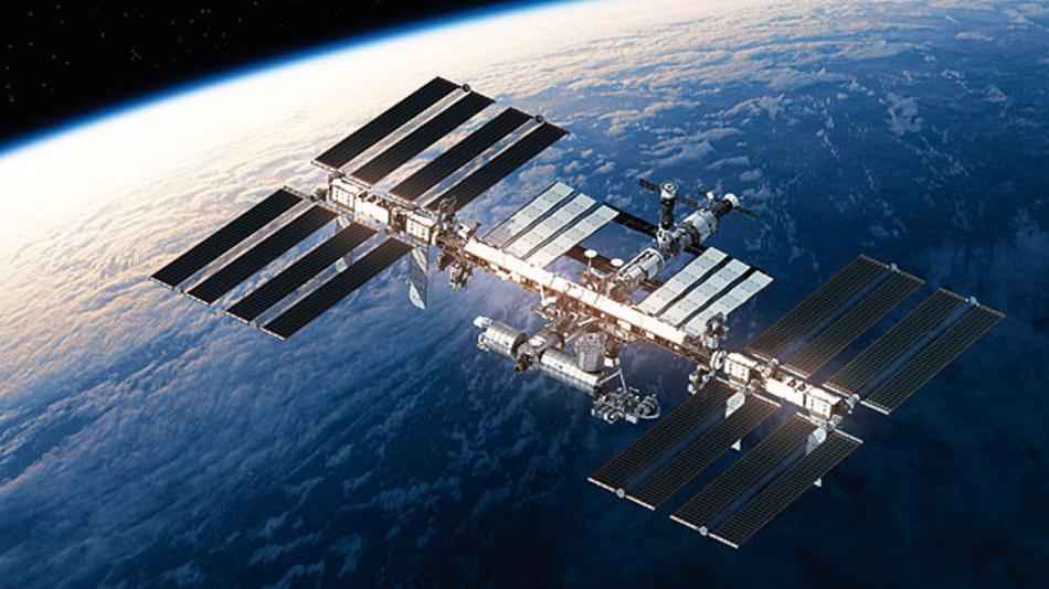 EIne konstante Verbindung für Rechnersysteme zwischen  Raumstation und Erde .