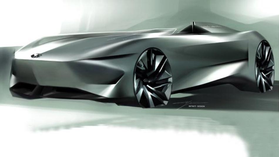 Infinity will sein elektrifiziertes Performance-Konzept-Fahrzeug in Pebble Beach zeigen.