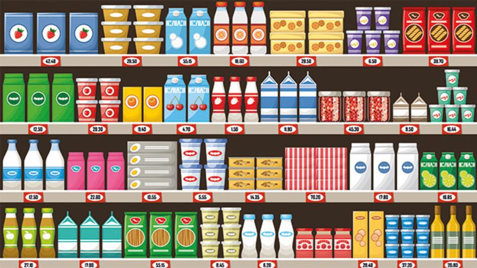 Nachts im Supermarkt könnten irgendwann Robotersysteme die Regale befüllen.