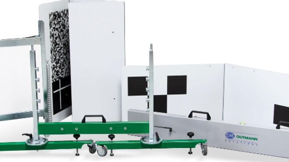 Das mobile Camera- and Sensor-Calibration (CSC)-Tool von Hella Gutmann.