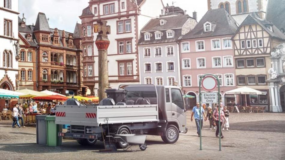 Bosch will E-Mobilität dorthin bringen, wo sie definitiv Sinn macht – nämlich in den städtischen Lieferverkehr.