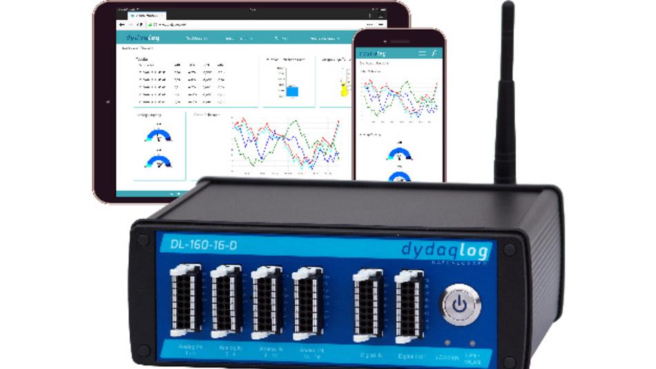 IIoT-Datenlogger mit integriertem Webserver.