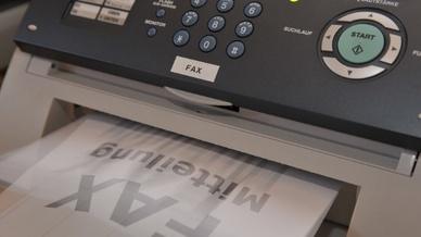 Sicherheitslücke altes Fax?