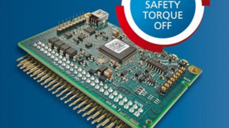 Über eine Safe-Torque-Off-Funktion verfügen die Motion Controller der Serie MC 5004 P STO von Faulhaber.