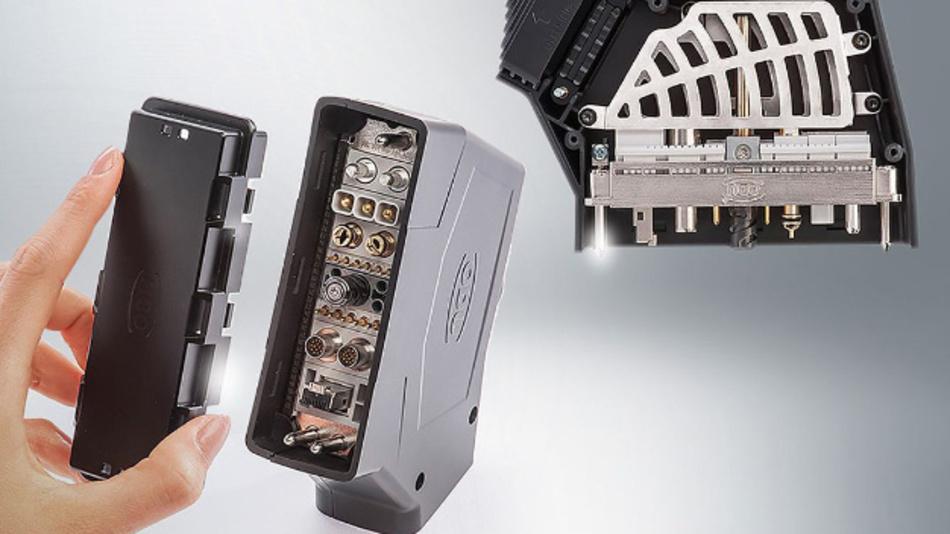 ODU-MAC Rapid heißt das neuartigen Gehäuseprinzip mit vielen intelligenten Details.