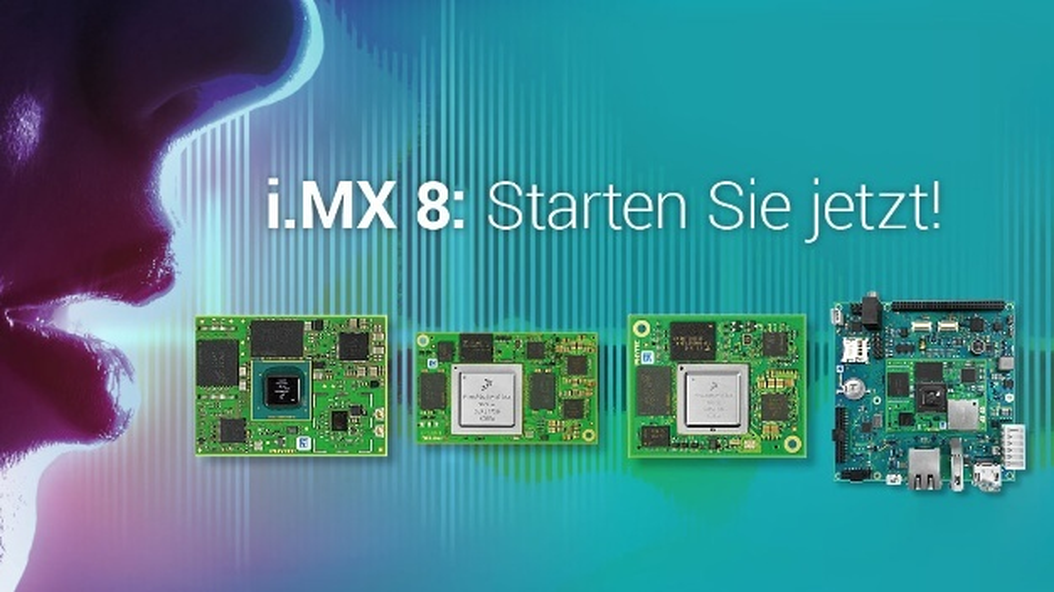 Phytec liefert Entwicklungskits für verschiedene i.MX8-Prozessoren.