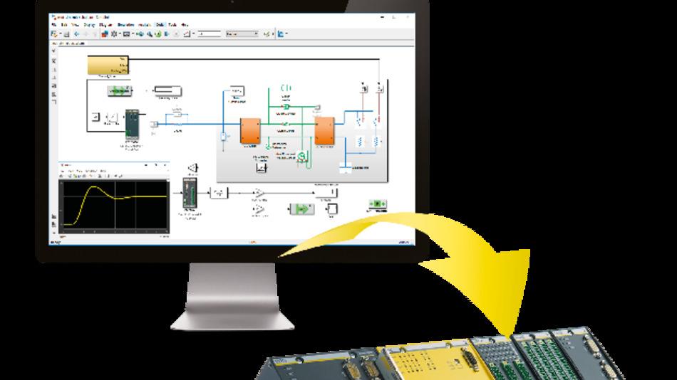 Das Software-Tool »M-Target for Simulink« von Bachmann electronic stellt eine nahtlose Verbindung zwischen Bachmanns Echtzeit-Steuerungssystem M1 und Matlab/Simulink von MathWorks her.