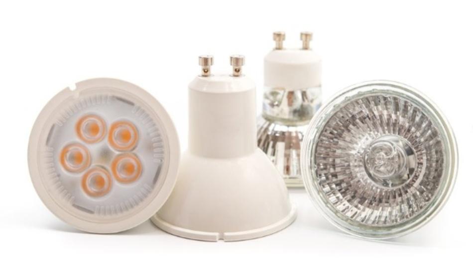 Halogenlampen ausknipsen, LED einschalten -   für verbotene Lampen gibt es energiesparenden Ersatz