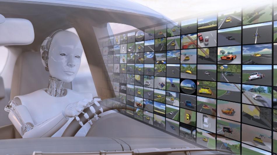 KI für automatisiertes Fahren: Mit CarMaker können Deep-Learning-Algorithmen trainiert und im virtuellen Fahrversuch getestet werden.