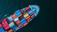 Containerauslieferung